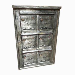 Vintage Industrial Metal Cabinet, 1960s