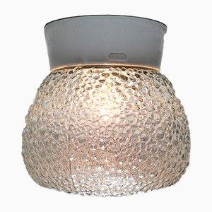 Deckenlampe aus Sideglas & Porzellan, 1960er