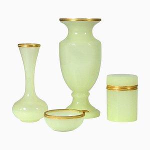 Italienisches Glas Set von Nason, 1960er