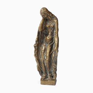 Escultura de bronce de Jakob Wilhelm Fehrle, años 20