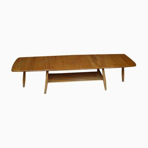 Mid-Century Blue Extendable Coffee Table by Lucian Ercolani for Ercol, 1970s