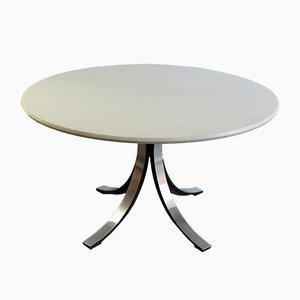 Mesa de comedor modelo T69 de mármol de Osvaldo Borsani para Tecno, años 60