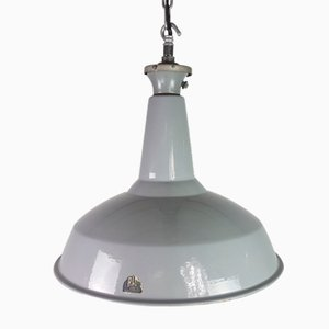 Lámpara colgante industrial vintage de Benjamin Electric Manufacturing Company