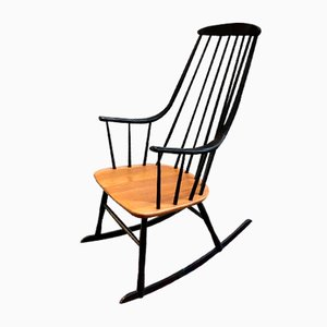 Rocking-chair par Lena Larsson, années 50
