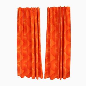 Paneles de cortina de Verner Panton para Mira-X, años 70. Juego de 2