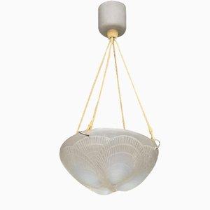 Lámpara de techo vintage de René Lalique, años 20