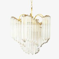 Italian Modern Murano Glass Chandelier, 1950