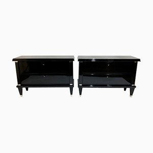 Art Deco French Dressers, 1930s, Set of 2