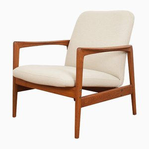Mid-Century Swedish Teak Armchair by Folke Ohlsson for Dux, 1960s