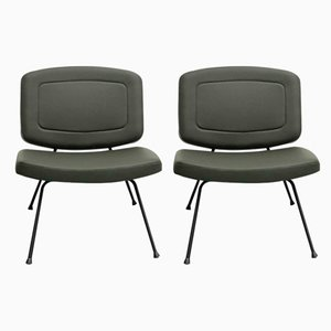 Model CM 190 Lounge Chairs by Pierre Paulin for Thonet, 1950s, Set of 2