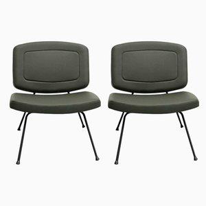 Modell CM 190 Sessel von Pierre Paulin für Thonet, 1950er, 2er Set