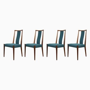 Mid-Century Danish Teak Dining Chairs, 1960s, Set of 4