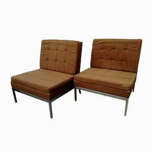 Mid-Century Lounge Chairs by Florence Knoll, Set of 2