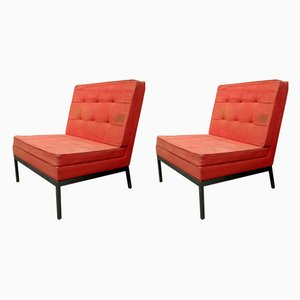 Mid-Century Chaiselounges von Florence Knoll, 2er Set