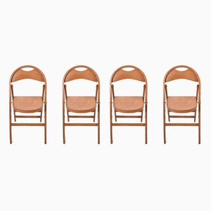 Chaises de Salle à Manger Modèle Tric par Achille Castiglioni, années 70, Set de 4
