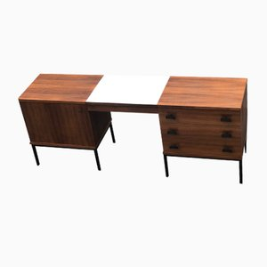 Rosewood Desk by Antoine Philippon & Jacqueline Lecoq, 1960s