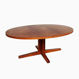 Extendable Rosewood Dining Table by John Mortensen for Heltborg Møbler, 1960s