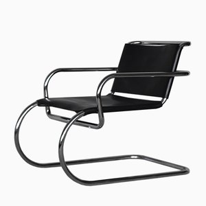German Leather Armchair by Franco Albini for Tecta, 1950s