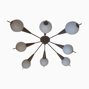 Plafonnier Sputnik Mid-Century, Italie, années 50