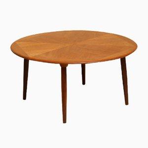 Table Basse en Teck par H. W. Klein pour Bramin, années 60