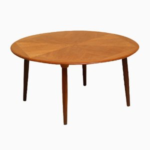 Teak Coffee Table by H. W. Klein for Bramin, 1960s