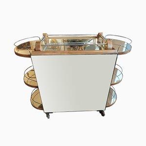Mueble vintage espejado, años 40