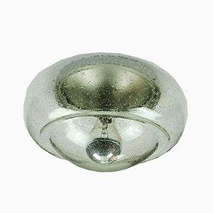 Deckenlampe aus Sideglas, 1970er