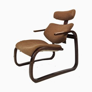 Bentwood Lounge Chair from Rykken, 1960s