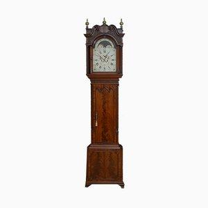 Antike georgianische Uhr von Eccles Collier