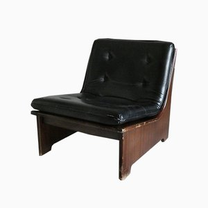 Vintage Rosewood Lounge Chair from AG Barcelona, 1960s