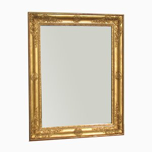Antique Gilded Rectangular Mirror