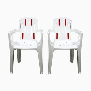 Side Chairs by Pierre Paulin for Stamp, 1990s, Set of 6