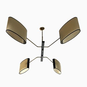 Chandelier from Maison Lunel, 1950s