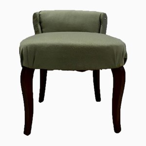 Small Mid-Century Green Side Chair, 1950s