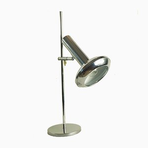 Vintage Chrome Table Lamp from Koch & Lowy, 1970s