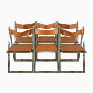 Esszimmerstühle von Lübke, 1970er, 6er Set