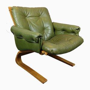 Kengu Sessel mit Gestell aus Teak von Oddvin Rykken für Rybo Rykken & Co, 1960er