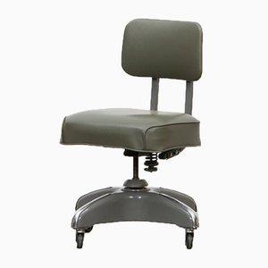 Dark Green Swivel Chair by Globe Furniture, 1950s