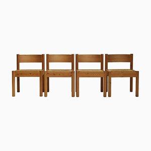 Chaises de Salle à Manger par Rainer Daumiller pour Hirtshals Sawmill, Danemark, 1970s, Set de 4