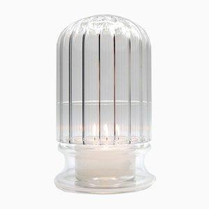 Portacandele Moscardino in vetro di Kanz Architetti per Kanz