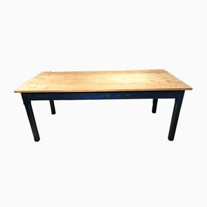 Vintage Blue Dining Table