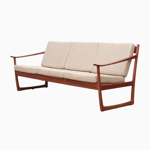 Model FD130 Sofa by Peter Hvidt & Orla Mølgaard-Nielsen for France & Søn / France & Daverkosen, 1960s