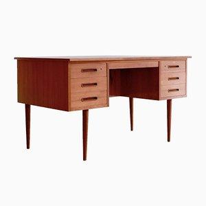 Scandinavian Teak Desk, 1960s
