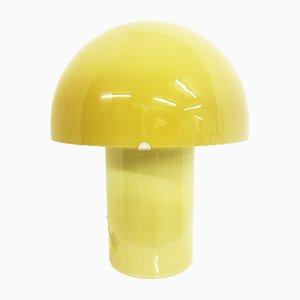Lámpara de mesa hongo vintage grande de Peill & Putzler, años 70