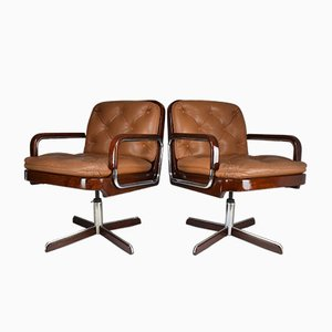 Mid-Century Desk Chairs from AG Barcelona, 1970s, Set of 2