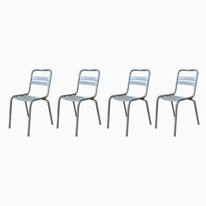 Mid-Century Garden Chairs from Tolix, 1950s, Set of 4