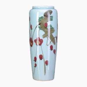 Jarrón chino vintage de cerámica