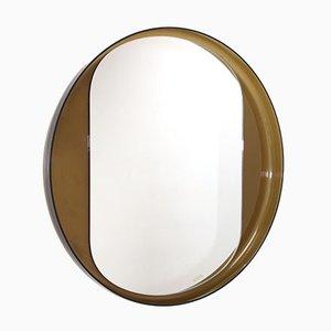 Espejo redondo de Guzzini, años 70