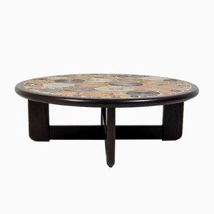 Table Basse Mid-Century par Tue Poulsen pour Haslev Møbelsnedkeri