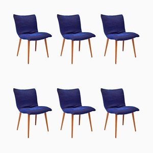 Vintage Esszimmerstühle von Ligne Roset, 1960er, 6er Set